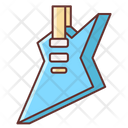 Metal Guitar Musical Instrument Icon