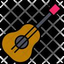 Summer Guitar Vacation Icon