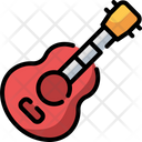 Guitar Music And Multimedia Acoustic Icon