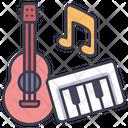 Music Guitar Instrument Icon