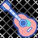 Guitar Chordophone Fiddle Icon