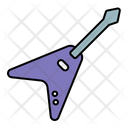 Guitar Electric V Icon