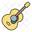 Guitar Acoustic Music Icon