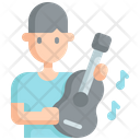 Guitar Hobby Free Time Icon