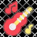 Guitar New Year Celebration Icon