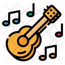 Guitar Music Play Icon