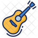 Guitar Play Acoustic Icon