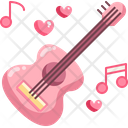 Guitar Love Song Love Music Icon