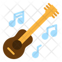 Guitar Folk Music Icon