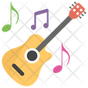 Guitar Musical Note Musical Instrument Icon