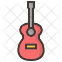 Guitar Instruments Music Icon