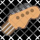 Guitar Head Icon