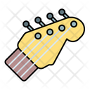 Head Guitar Acoustic Icon