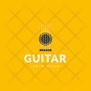 Guitar Tag Guitar Label Guitar Logo Icon