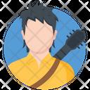 Guitar Man Icon