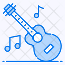 Guitar Music Musical Instrument Acoustic Icon
