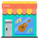 Guitar Music Store Icon