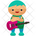 Guitarist Man Avatar Icon