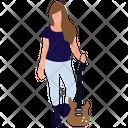 Female Guitarist Lady Guitarist Female Artist Icon