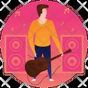 Guitar Guitar Player Guitarist Icon