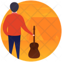 Guitarist Music Man Musician Icon