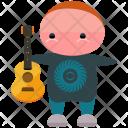 Guitarist Guitar Player Icon
