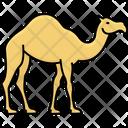 Gulf Camel Camel Desert Animal Icon