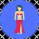 Gulf Dance Belly Dance Ballerina Icon