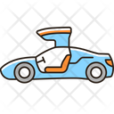 Gullwing Doored Vehicle Icon