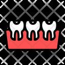 Gum Clinic Dentist Icon