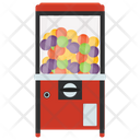 Vending Machine Gumball Vending Coin Machine Icon