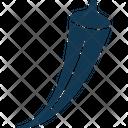Gumbo Lady Finger Okra Icon
