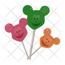 Gummy Bear Bear Lollipop Candy Icon