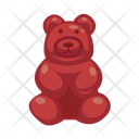 Gummy Bear Bear Candy Candy Icon