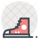 Gumshoes Shoes Footwear Icon