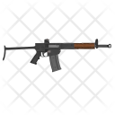 Automatic Shooting Weapon Icon
