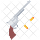 Revolver Bullet Wild Icon