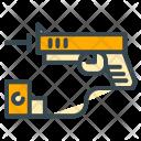 Gun Pistol Laser Icon