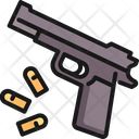 Gun Bullet Weapon Icon