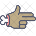 Gun Hand Bone Icon
