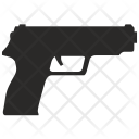 Hand Gun Shoot Icon