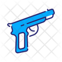 Gun Pistol Security Icon