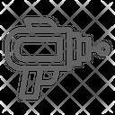 Gun Blaster Laser Icon