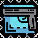 Gun Handgun Weapon Icon