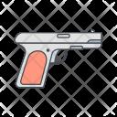 Gun Hunting Pistol Icon