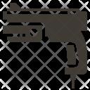 Gun Joystick Solid Icon