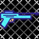 Diving Contour Gun Icon