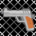 Gun Bullets Pistol Icon
