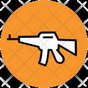 Gun Kalashnikov Rifle Icon