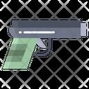 Xgun Handgun Pistol Icon